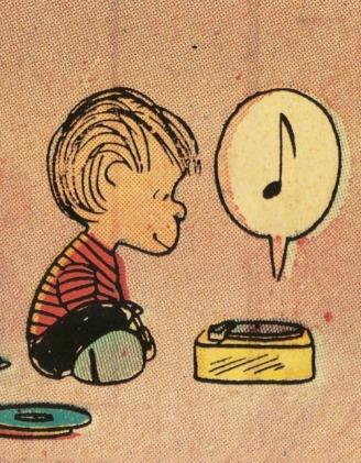 From Peanuts by Charles Schulz